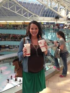April at mall